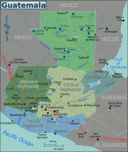 Guatemala_Regions_map